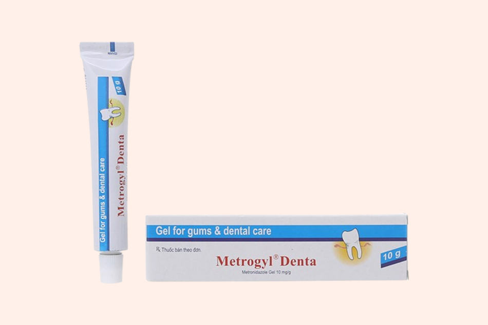Dạng đóng gói của thuốc Metrogyl Denta