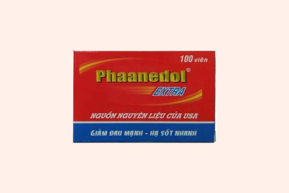 Hình ảnh hộp thuốc Phaanedol