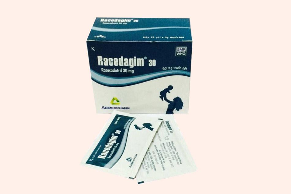 Hình ảnh hộp thuốc và gói thuốc Racedagim 30mg