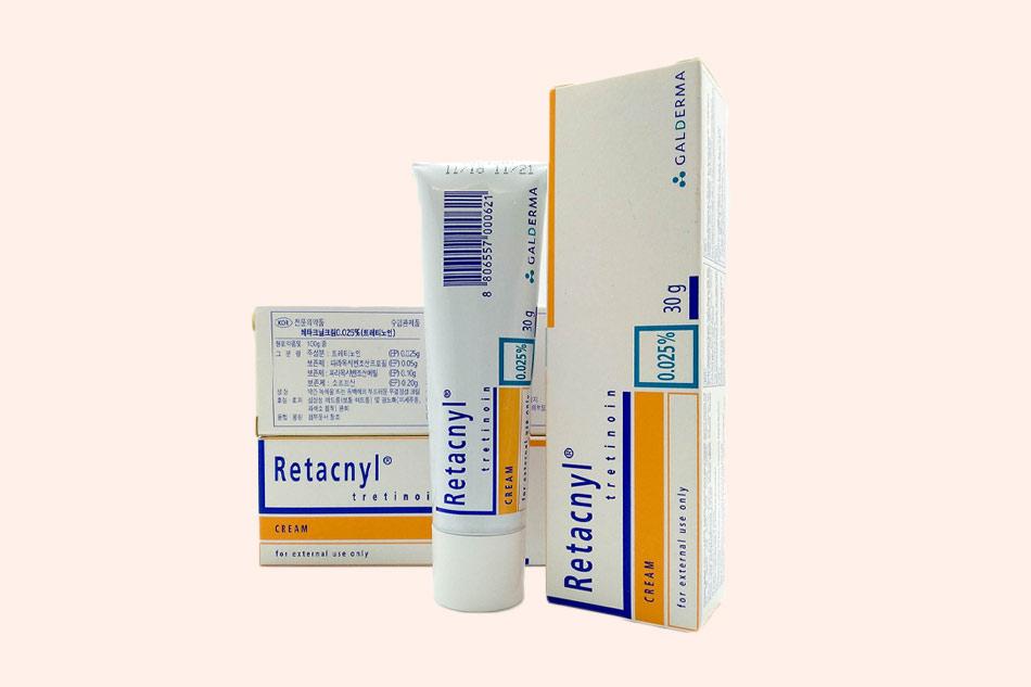 Kem Retacnyl có tác dụng gì?