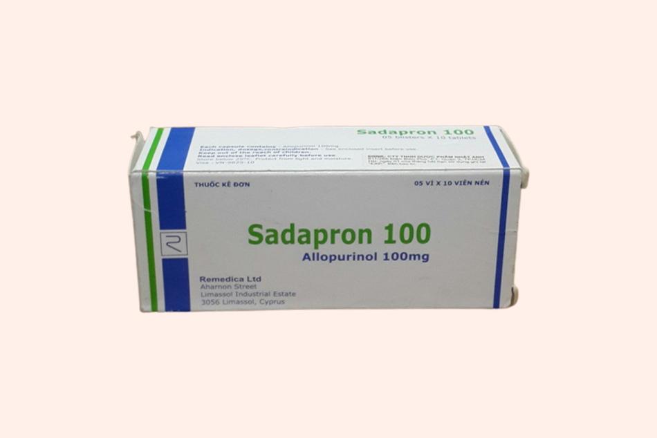 Hình ảnh hộp thuốc Sadapron 100