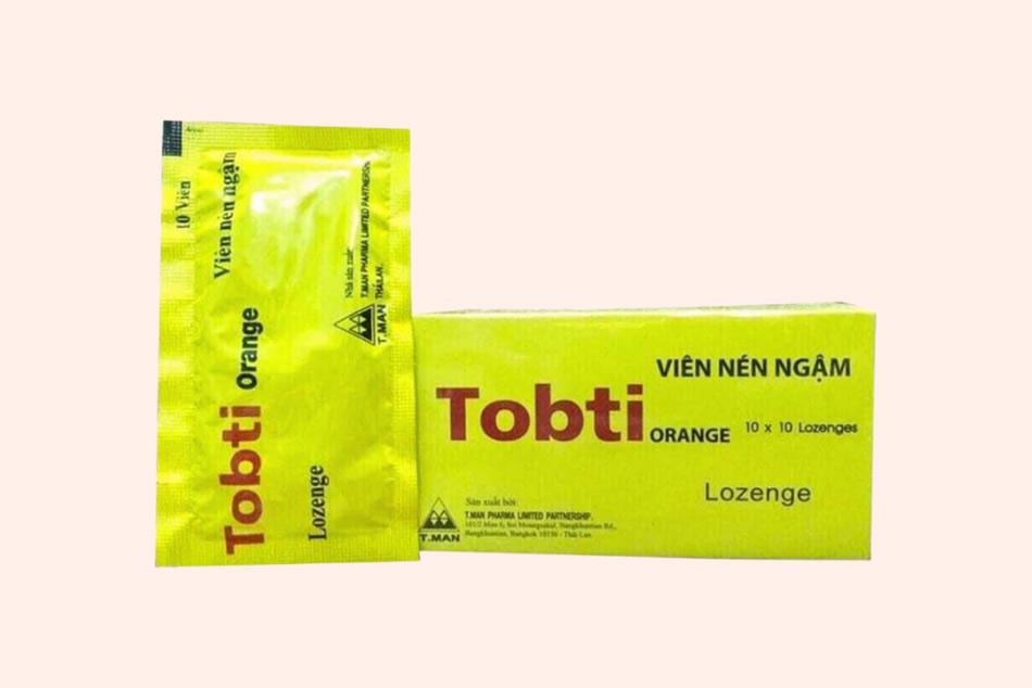 Dạng đóng gói của thuốc Tobti Orange