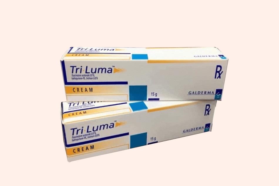 Hình ảnh hộp kem trị nám Tri Luma