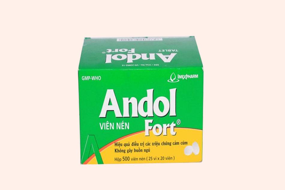Thuốc Andol Fort là thuốc gì?
