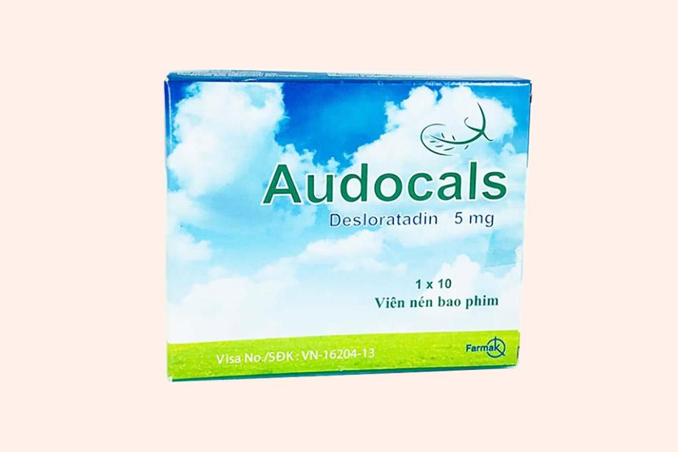 Hình ảnh của hộp thuốc Audocals 5mg