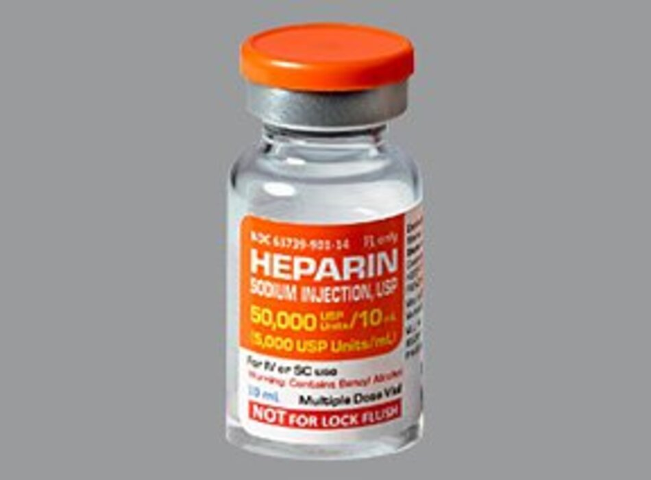 Thuốc chống đông máu Heparin
