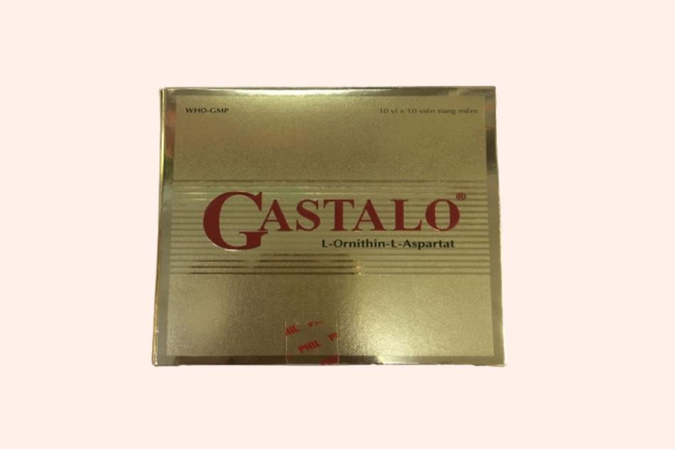 Hình ảnh của mặt trước hộp thuốc Gastalo
