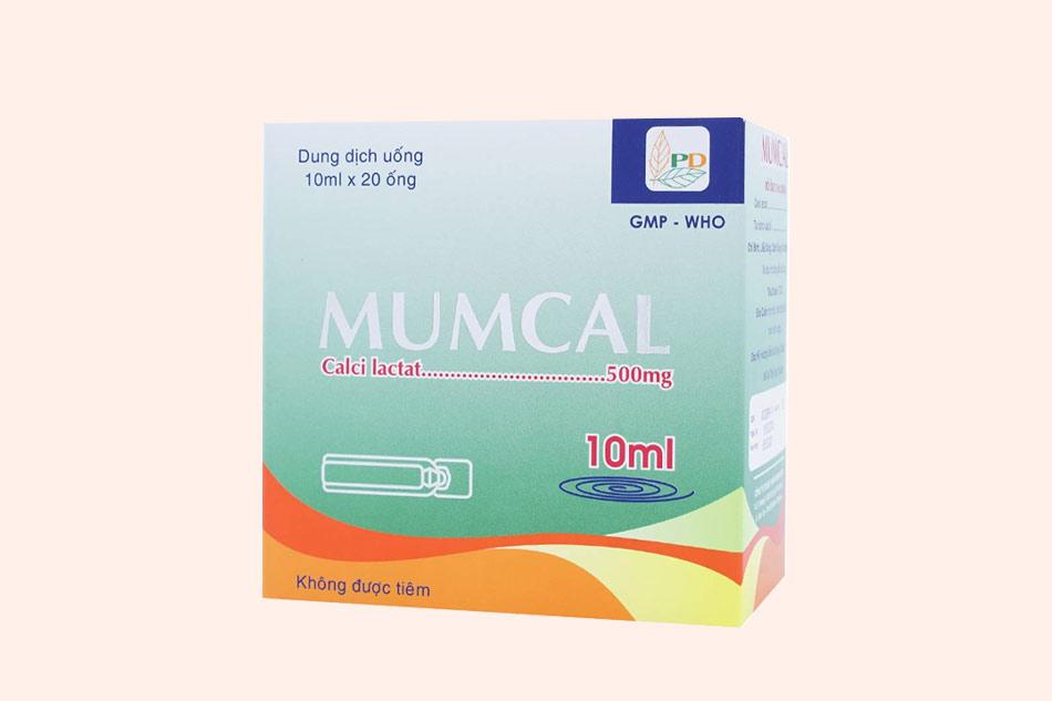 Thuốc Mumcal là thuốc gì?