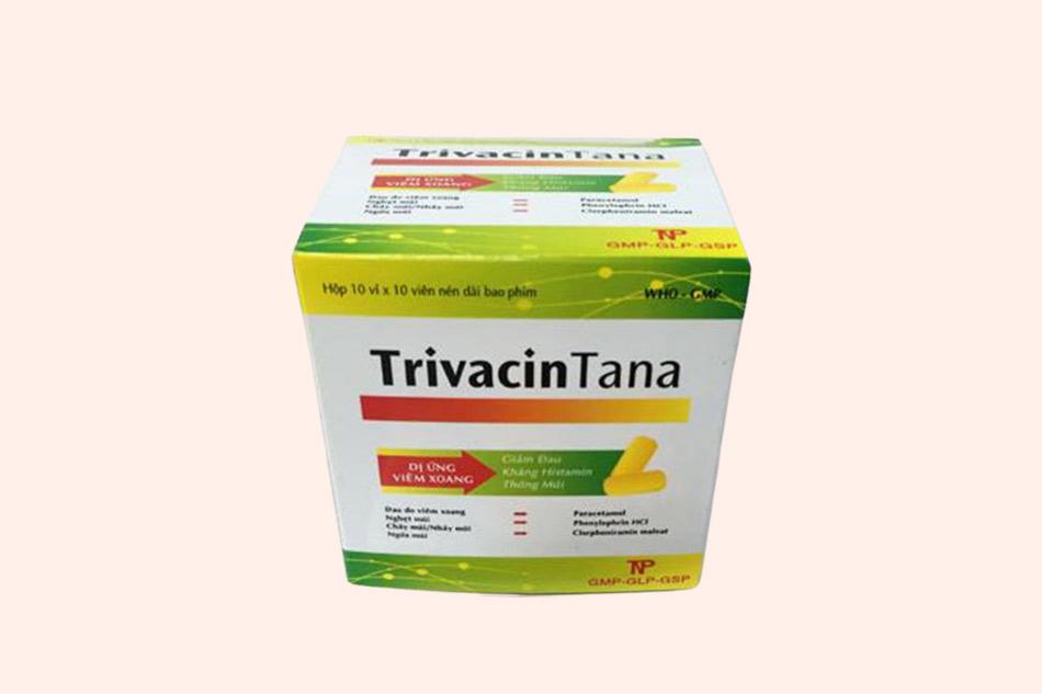 Hình ảnh của hộp thuốc TrivacinTana