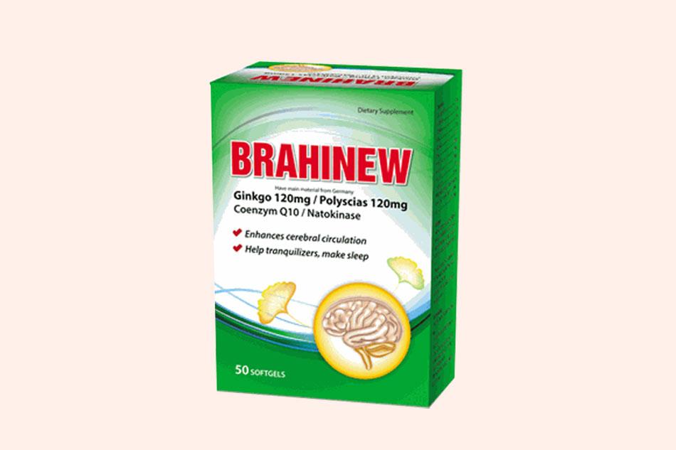 Hình ảnh hộp viên uống Brahinew