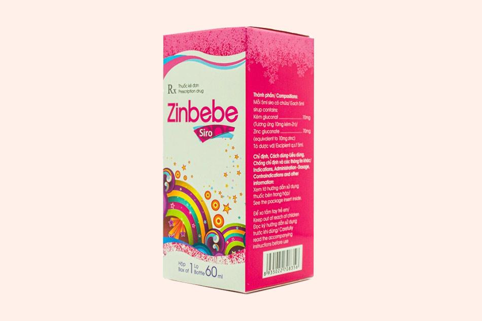 Hình ảnh của hộp thuốc Zinbebe