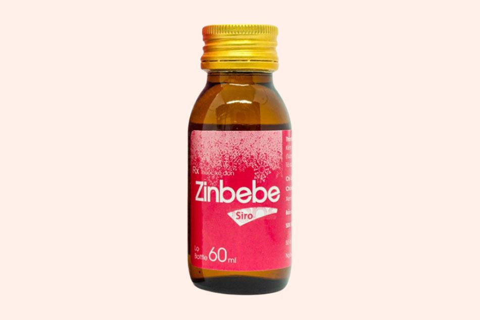 Hình ảnh của chai siro Zinbebe
