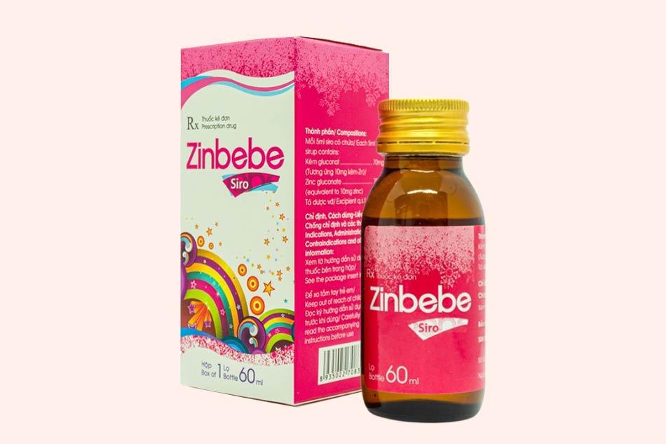 Thuốc Zinbebe có chống chỉ định trong những trường hợp nào?