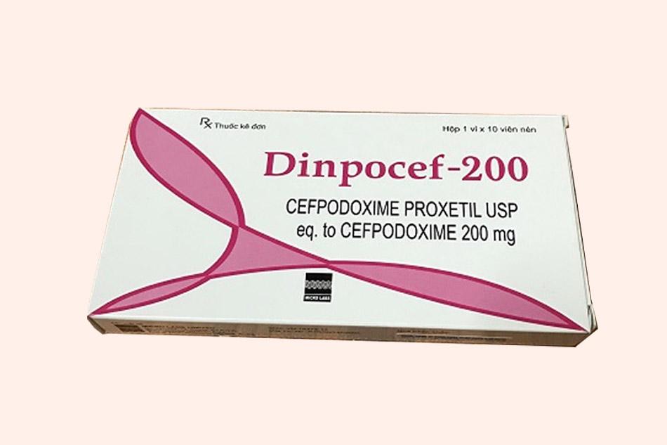Thuốc Dinpocef 200 là thuốc gì?
